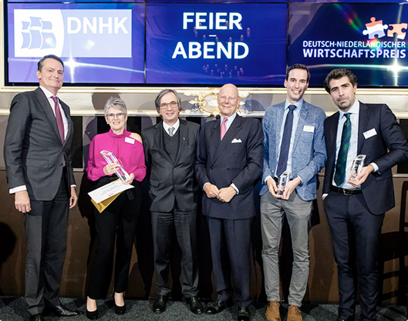 Artikelbild - Deutsch-niederländischer Wirtschaftspreis